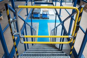 sicherer Zugang über Hindernisse mit Rohrverbindern
