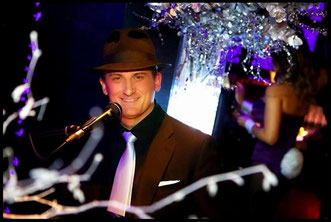 Greg Canestrari performing at Playboy Club London - New Year's Eve 2013