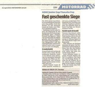 Motorsport aktuell 23.04.2013