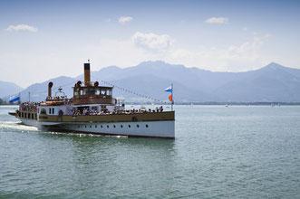 """Ein """"Muss"""" für alle Feriengäste: mit dem Schiff..."""