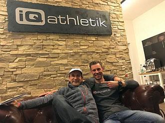 Bernd Hornetz und Sebastian Mühlenhoff von iQ athletik