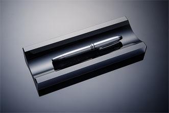 Stifteschale von black-glass