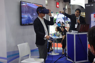 Demonstration of Waste to Energy plant by VR