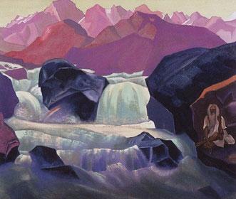 Река в Гималаях.