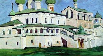 Воскресенский монастырь в Угличе.
