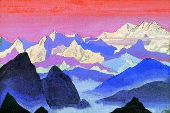 Канченджанга. Гималаи.