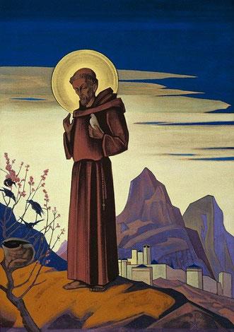 Святой Франциск.