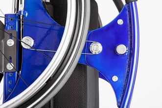 Stehmechanismus Aufsteh-Rollstuhl HI-LO LA