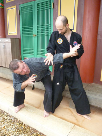 Kalnoki clé de hapkido