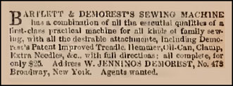 August 1866 Advertisement