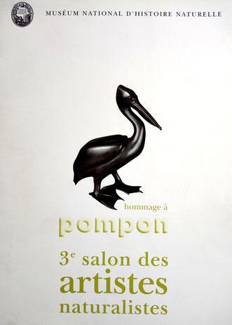 1998 - 3ème salon des artistes naturalistes    Museum national d'histoire naturelle, Paris - Roman Gorski