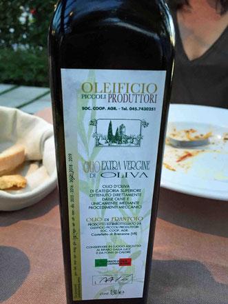 Gutes Gardasee Olivenöl von Brenzone