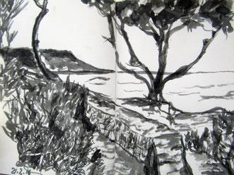 Skizze Formentera