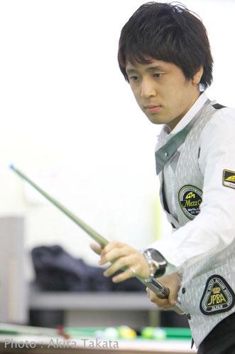 Hayato Hijikata won All Japan Rotation 2016 photo : Akira Takata