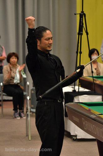 2015 Winner : Kosuke Tojo