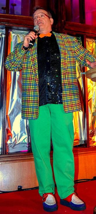 Frank Küster, Hermann Schmitz, Kabarett, Comedy, Schrott-Gala, Schrotti, Schrottgala, Uerige, Düsseldorf, Altstadt, Alt, Altbier, Karneval, Carneval,