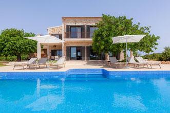 Villa Viduletto, Luxusfinca mit Pool