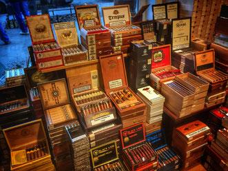 Tabakfreund Humidor mit Zigarren von Berlin Cigar Guide