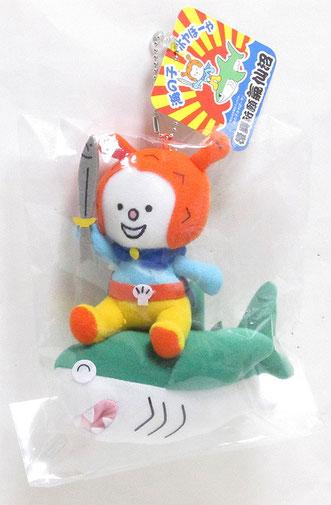 キャラクター人形サメ乗り