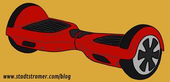 Hoverboard, Electric Wheel, Mini-Segway - Vorsicht bei der Nutzung! (Stadtstromer.com)