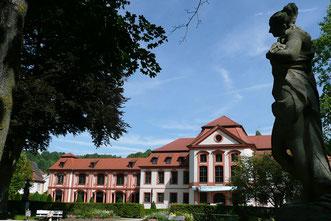 Stadtführung Eichstätt, Hofgarten der Fürstbischöflichen Sommerresidenz