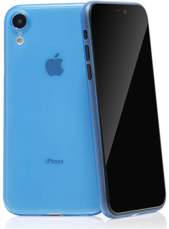 QUADOCTA Tenuis iPhone XR Hülle in Blau