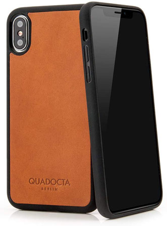 QUADOCTA No.6  iPhone X/XS Hülle in Braun