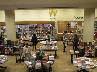 Bücher, Bücher, Bücher... über sechs Etagen