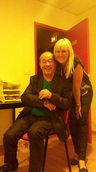 avec Jean Sarrus (les Charlots) Juin 2014