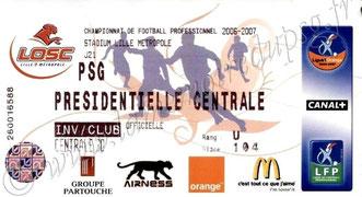 2007-01-24  Lille-PSG (21ème L1)