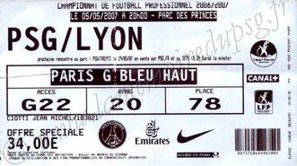 2007-05-05  PSG-Lyon (35ème L1)