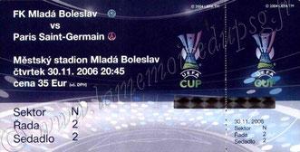 2006-11-30  Mlada Boleslav-PSG (4ème journée poule UEFA)