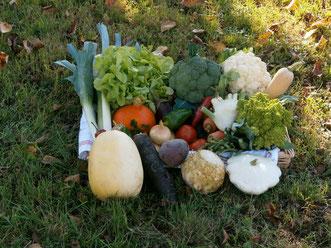 Légumes de saison dans le Grésivaudan