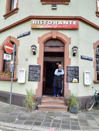 Italienische Speisen von Ezio im Ristorante Ai Sapori Mannheim Seckenheim