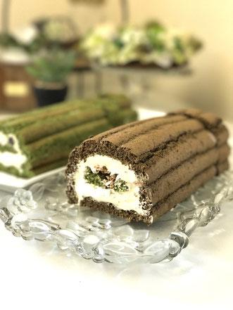 テ・ベール(抹茶と米粉+ほうじ茶と全粒粉の2種)