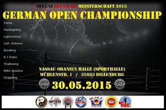 WMF Amateur Muaythai German Open