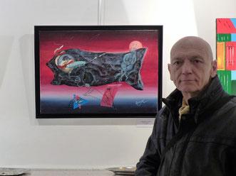 Claude Rossignol - Rêve ambigu, Expo Galerie Thuillier 2016