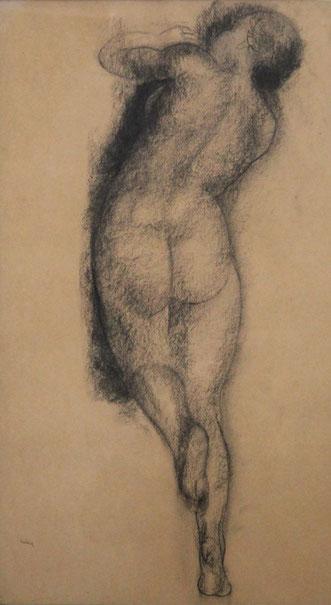 te_koop_aangeboden_een_vrouwelijk_naakt_kunstwerk_van_de_bergense_school_kunstenaar_toon_kelder_1894-1973