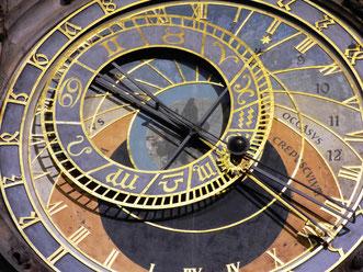 Astronomsiche Uhr in Prag, Bild: Pixabay