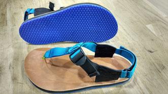 Confection de sandales sur mesure !