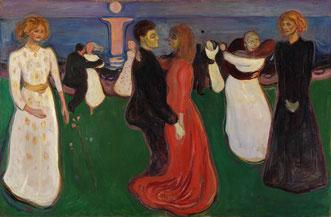 Edvard Munch, La Danse de la vie, 1899-1900.