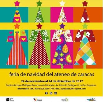 Feria de Navidad del Ateneo de Caracas
