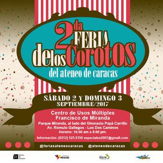 Feria de los Corotos del Ateneo de Caracas - 2da Edición