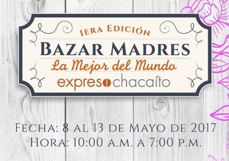 Bazar Madres, 1era Edición - Producciones 20/20