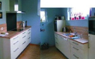 Küche mal etwas anders, © Ladenbau Berschneider, Deining