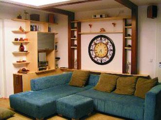 Wohnzimmer als Kino, © Ladenbau Berschneider, Deining