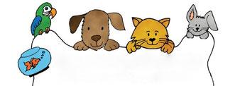 ストレスのないご自宅でわんちゃんネコちゃんのお世話 犬のお世話、ネコのお世話