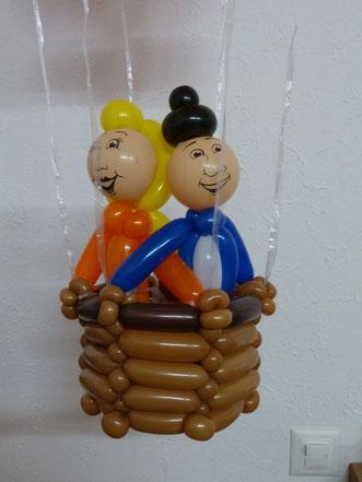 Mr.balloni ch,Heißluftballon, Flug,Ballondeko, Geburtstag, Geschenk
