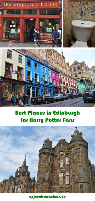 Best Places for Harry Potter Fans in Edinburgh