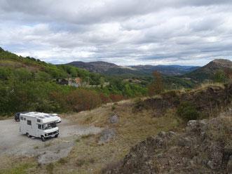 Bild: Die wilden Monts d ´Ardèche
